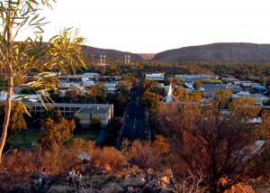 Центр города Alice Springs