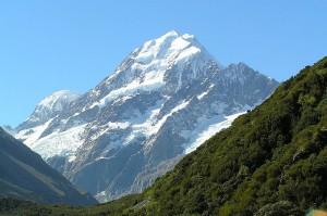 Вершина горы Кука