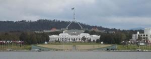 Здание парламента Канберры
